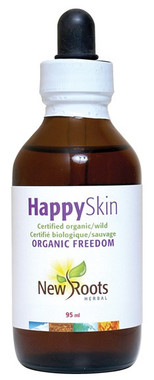 New Roots Happy Skin Certified Organic, 95 ml | NutriFarm.ca