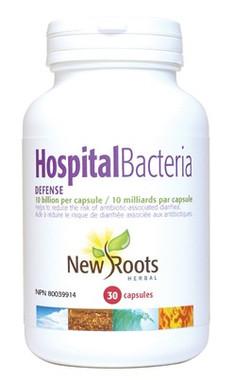 New Roots Hospital Bacteria Defense 10 Billion, 30 Capsules | NutriFarm.ca