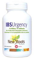New Roots IBS Urgency 10 Billion, 30 Capsules | NutriFarm.ca