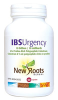 New Roots IBS Urgency 10 Billion, 60 Capsules | NutriFarm.ca