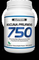 SD Pharmaceuticals Mucuna Pruriens 750 mg, 126 Capsules | NutriFarm.ca