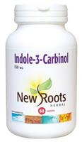 New Roots Indole-3-Carbinol 150 mg, 60 Capsules   NutriFarm.ca