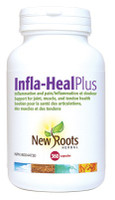 New Roots Infla-Heal Plus, 360 Capsules | NutriFarm.ca