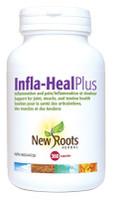 New Roots Infla-Heal Plus, 360 Capsules | NutriFarm.ca