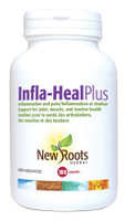 New Roots Infla-Heal Plus, 180 Capsules | NutriFarm.ca