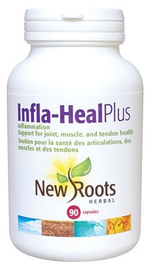 New Roots Infla-Heal Plus, 90 Capsules | NutriFarm.ca