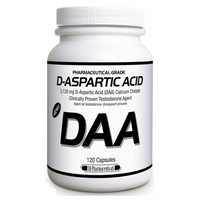 SD Pharmaceuticals D-Aspartic Acid, 120 Capsules | NutriFarm.ca