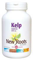 New Roots Kelp 225 mg, 300 Tablets | NutriFarm.ca