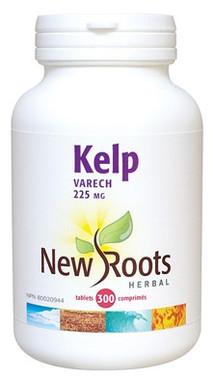New Roots Kelp 225 mg, 300 Tablets | NutriFarm.ca