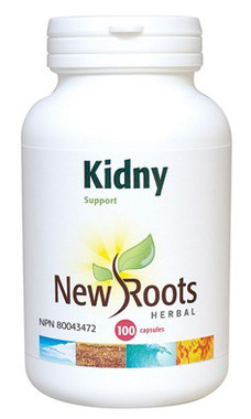 New Roots Kidny, 100 Capsules | NutriFarm.ca