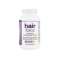 Prairie Naturals Hair Force, 180 Softgels | NutriFarm.ca