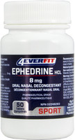 4EverFit Ephedrine 8mg, 50 Tablets | NutriFarm.ca