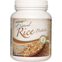 Precision All Natural Rice Protein Unflavoured, 600 g | NutriFarm.ca