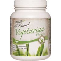 Precision All Natural Vegetarian Protein Unflavoured, 600 g | NutriFarm.ca