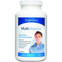 Progressive Multivitamins For Adult Men, 120 Vegetable Capsules | NutriFarm.ca