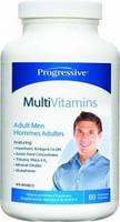 Progressive Multivitamins For Adult Men, 60  Vegetable Capsules | NutriFarm.ca