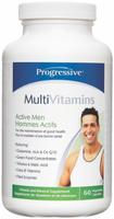 Progressive Multivitamins For Active Men, 60 Vegetable Capsules | NutriFarm.ca