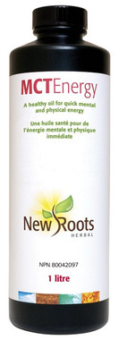 New Roots MCT Energy, 1 Litre | NutriFarm.ca