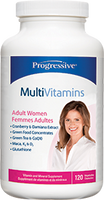 Progressive Multivitamins For Adult Women, 120 Vegetable Capsules | NutriFarm.ca