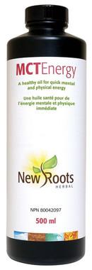 New Roots MCT Energy, 500 ml | NutriFarm.ca