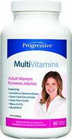 Progressive Multivitamins For Adult Women, 60 Vegetable Capsules | NutriFarm.ca