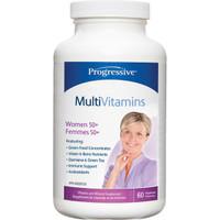 Progressive Multivitimins For Women 50+, 60 Vegetable Capsules | NutriFarm.ca