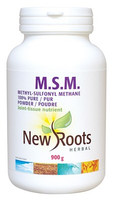 New Roots M.S.M. 100% Pure Powder, 900 g | NutriFarm.ca
