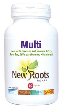 New Roots Multi, 60 Capsules   NutriFarm.ca