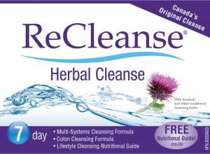 Prairie Naturals Recleanse Herbal Cleanse Kit   NutriFarm.ca