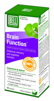 Bell Brain Function  (Formerly Super IQ Brain Function), 60 Capsules | NutriFarm.ca