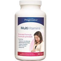 Progressive Multivitimins Prenatal, 60 Vegetable Capsules   NutriFarm.ca