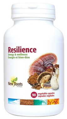 New Roots Resilience 400 mg 40% Polysaccharides, 90 Capsules | NutriFarm.ca