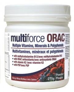 Prairie Naturals Multi-Force ORAC, 270 g   NutriFarm.ca