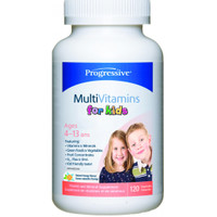 Progressive Multivitimins For Kids Chewable, 120 Tablets | NutriFarm.ca