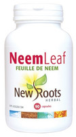 New Roots Neem Leaf 500 mg, 90 Capsules | NutriFarm.ca