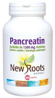New Roots Pancreatin, 260 Capsules