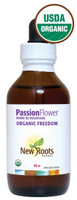 New Roots Passionflower Certified Organic, 95 ml