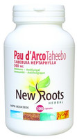 New Roots Pau d'Arco Taheebo 500 mg, 100 Capsules
