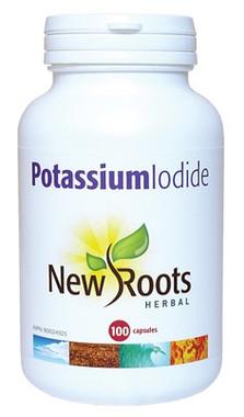New Roots Potassium Iodide, 100 Capsules | NutriFarm.ca
