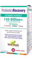 New Roots Probiotics Recovery 120 Billion, 30 Capsules | NutriFarm.ca