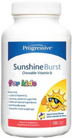 Progressive Sunshine Burst Vitamin D Chewable for Kids, 120 Softgels | NutriFarm.ca