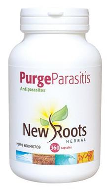 New Roots Purge Parasitis 430 mg, 360 Capsules | NutriFarm.ca