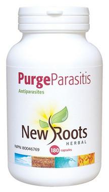 New Roots Purge Parasitis 430 mg, 180 Capsules | NutriFarm.ca