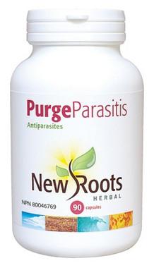 New Roots Purge Parasitis 430 mg, 90 Capsules | NutriFarm.ca