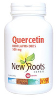 New Roots Quercetin Bioflavonoids 500 mg, 90 Capsules | NutriFarm.ca