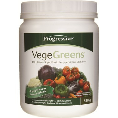 Progressive VegeGreens Original, 510 g | NutriFarm.ca