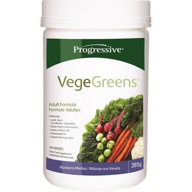Progressive VegeGreens Blueberry Medley, 265 g | NutriFarm.ca