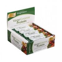 Progressive VegeGreens Protein Bars, 12 Bars | NutriFarm.ca
