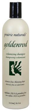 Prairie Naturals Goldenrod Volumizing Shampoo, 500 ml   NutriFarm.ca