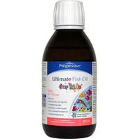 Progressive Ultimate Fish Oils for Kids, 200 ml | NutriFarm.ca